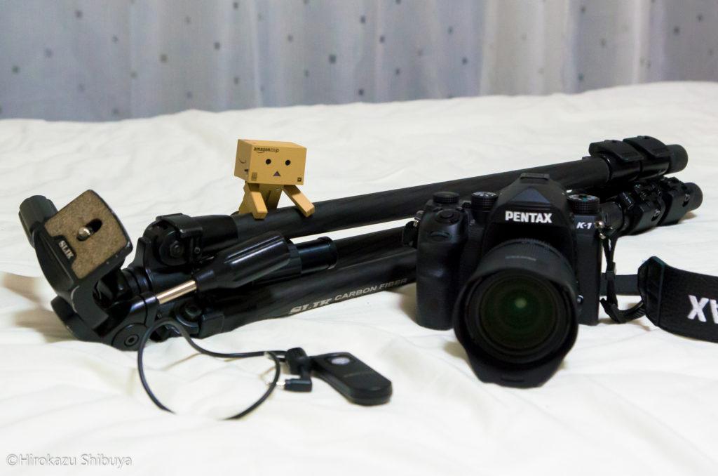 ジャンクション夜景撮影の必需品!一眼カメラ、三脚、レリーズ